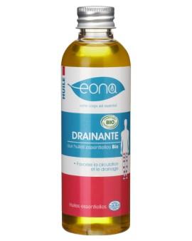 Huile de massage drainante -Bio - Française